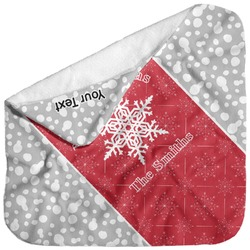 Snowflakes Baby Hooded Towel (Personalized)