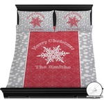 Snowflakes Duvet Cover Set (Personalized)