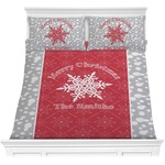 Snowflakes Comforter Set (Personalized)