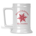 Snowflakes Beer Stein (Personalized)