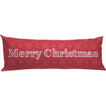 Snowflakes Body Pillow Case (Personalized)