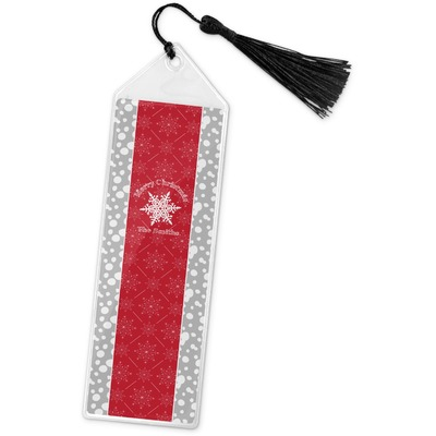 Snowflakes Book Mark w/Tassel (Personalized)