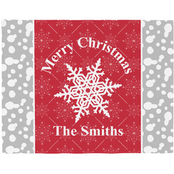 Snowflakes Placemat (Fabric) (Personalized)