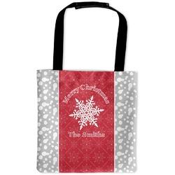 Snowflakes Auto Back Seat Organizer Bag (Personalized)
