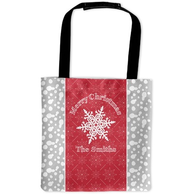 Snowflakes Auto Back Seat Organizer Bag (Personalized)