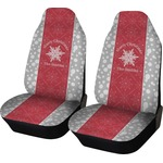 Snowflakes Car Seat Covers (Set of Two) (Personalized)