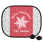 Snowflakes Car Side Window Sun Shade (Personalized)