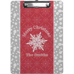 Snowflakes Clipboard (Personalized)