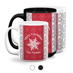 Snowflakes Coffee Mugs (Personalized)