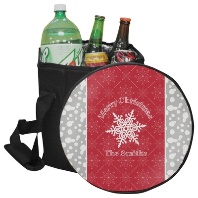 Snowflakes Collapsible Cooler & Seat (Personalized)