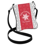 Snowflakes Cross Body Bag - 2 Sizes (Personalized)