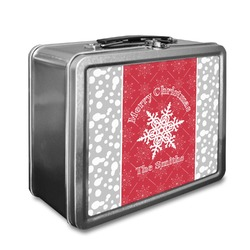 Snowflakes Lunch Box (Personalized)