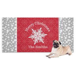 Snowflakes Pet Towel (Personalized)