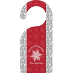 Snowflakes Door Hanger (Personalized)