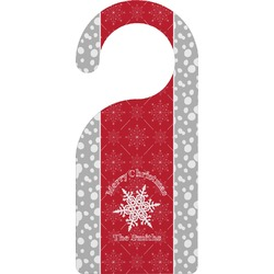 Snowflakes Door Hanger (Personalized)