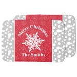 Snowflakes Dish Drying Mat (Personalized)
