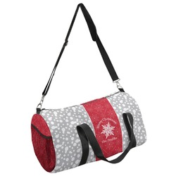 Snowflakes Duffel Bag - Multiple Sizes (Personalized)