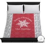 Snowflakes Duvet Cover (Personalized)
