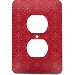 Snowflakes Electric Outlet Plate (Personalized)