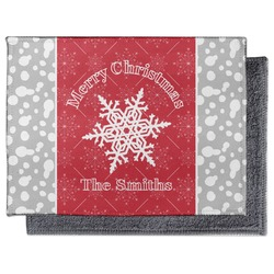 Snowflakes Microfiber Screen Cleaner (Personalized)