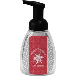 Snowflakes Foam Soap Dispenser (Personalized)