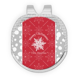 Snowflakes Golf Ball Marker - Hat Clip