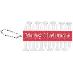 Snowflakes Golf Tees & Ball Markers Set (Personalized)