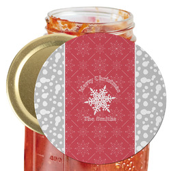 Snowflakes Jar Opener (Personalized)