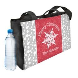 Snowflakes Ladies Workout Bag (Personalized)