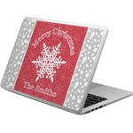 Snowflakes Laptop Skin - Custom Sized (Personalized)