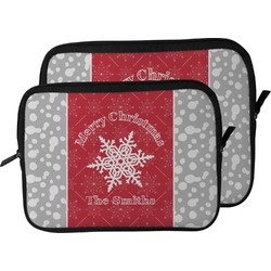 Snowflakes Laptop Sleeve / Case (Personalized)