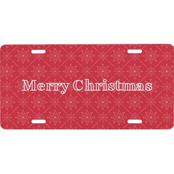 Snowflakes Front License Plate (Personalized)