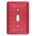 Snowflakes Light Switch Covers (Personalized)