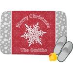 Snowflakes Memory Foam Bath Mat (Personalized)