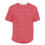 Snowflakes Men's Crew T-Shirt (Personalized)