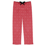 Snowflakes Mens Pajama Pants (Personalized)