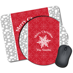Snowflakes Mouse Pads (Personalized)