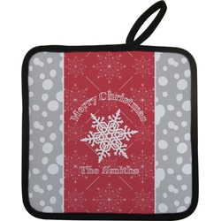 Snowflakes Pot Holder (Personalized)