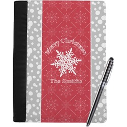 Snowflakes Notebook Padfolio (Personalized)