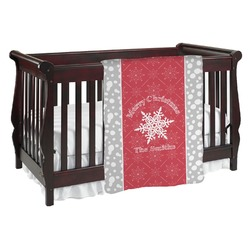 Snowflakes Baby Blanket (Personalized)