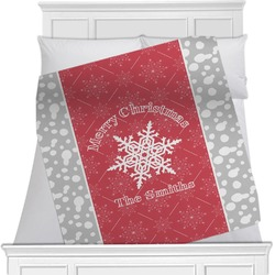 Snowflakes Blanket (Personalized)