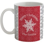 Snowflakes Coffee Mug (Personalized)