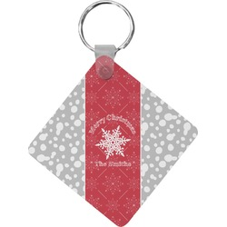 Snowflakes Diamond Key Chain (Personalized)