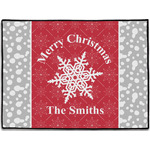 Snowflakes Door Mat (Personalized)