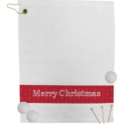 Snowflakes Golf Towel (Personalized)