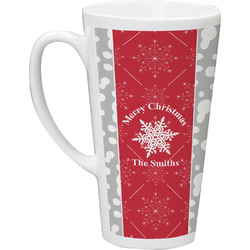 Snowflakes Latte Mug (Personalized)