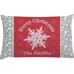 Snowflakes Pillow Case (Personalized)