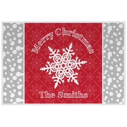 Snowflakes Placemat (Laminated) (Personalized)