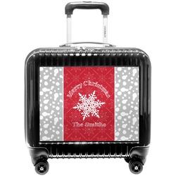 Snowflakes Pilot / Flight Suitcase (Personalized)