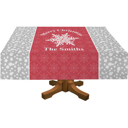 Snowflakes Tablecloth (Personalized)